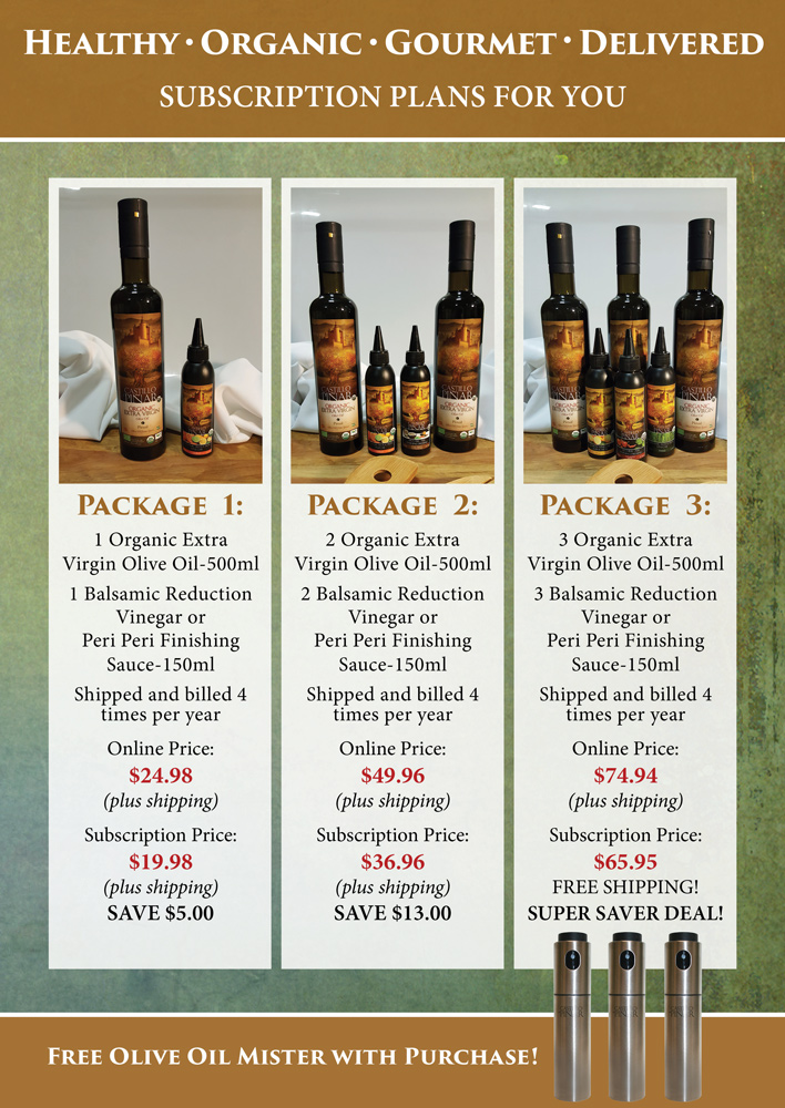 Castillo de Pinar Subscription Packages